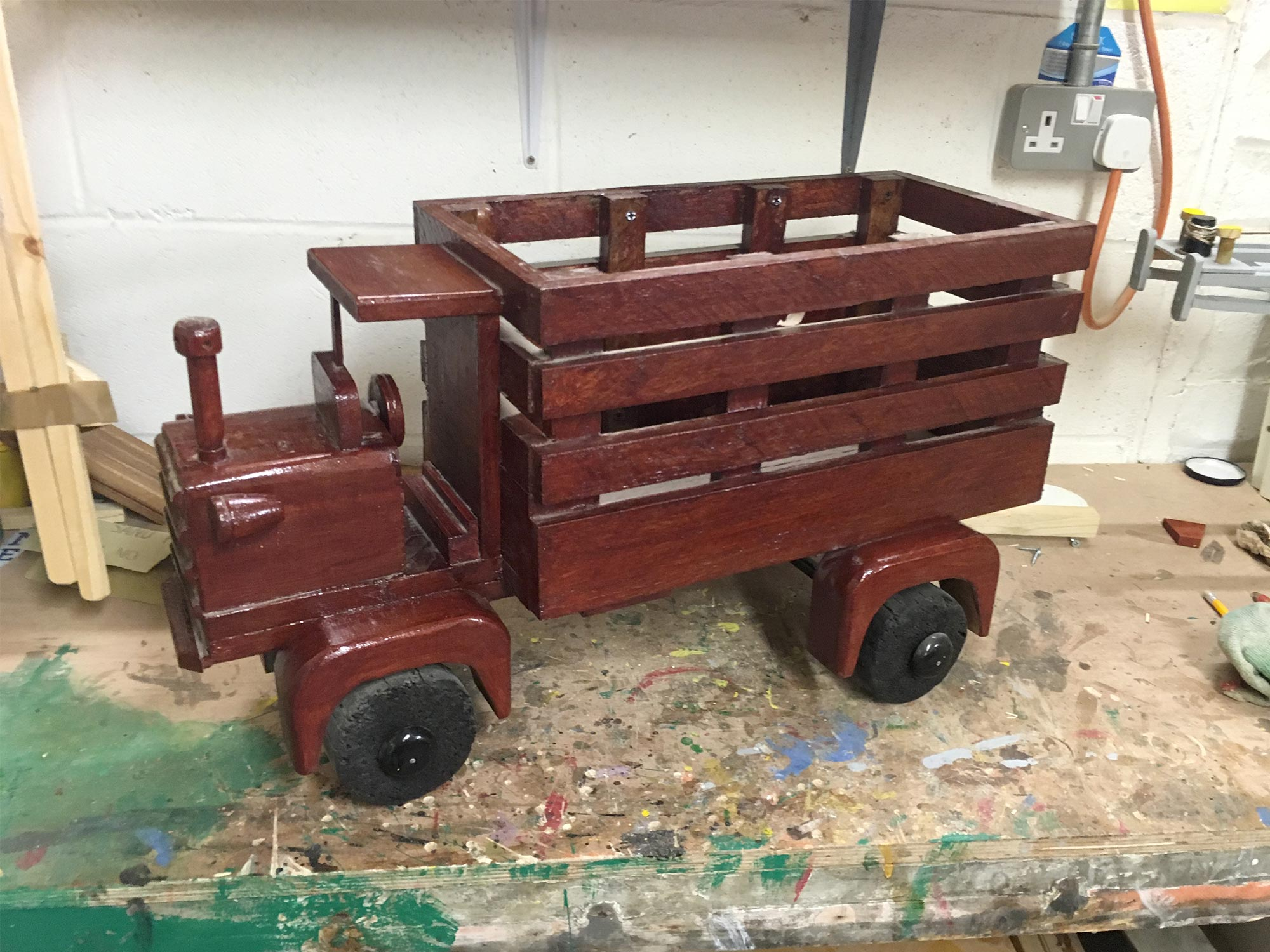 SteamTruck_Planter_Kirkintilloch_Mens_Shed