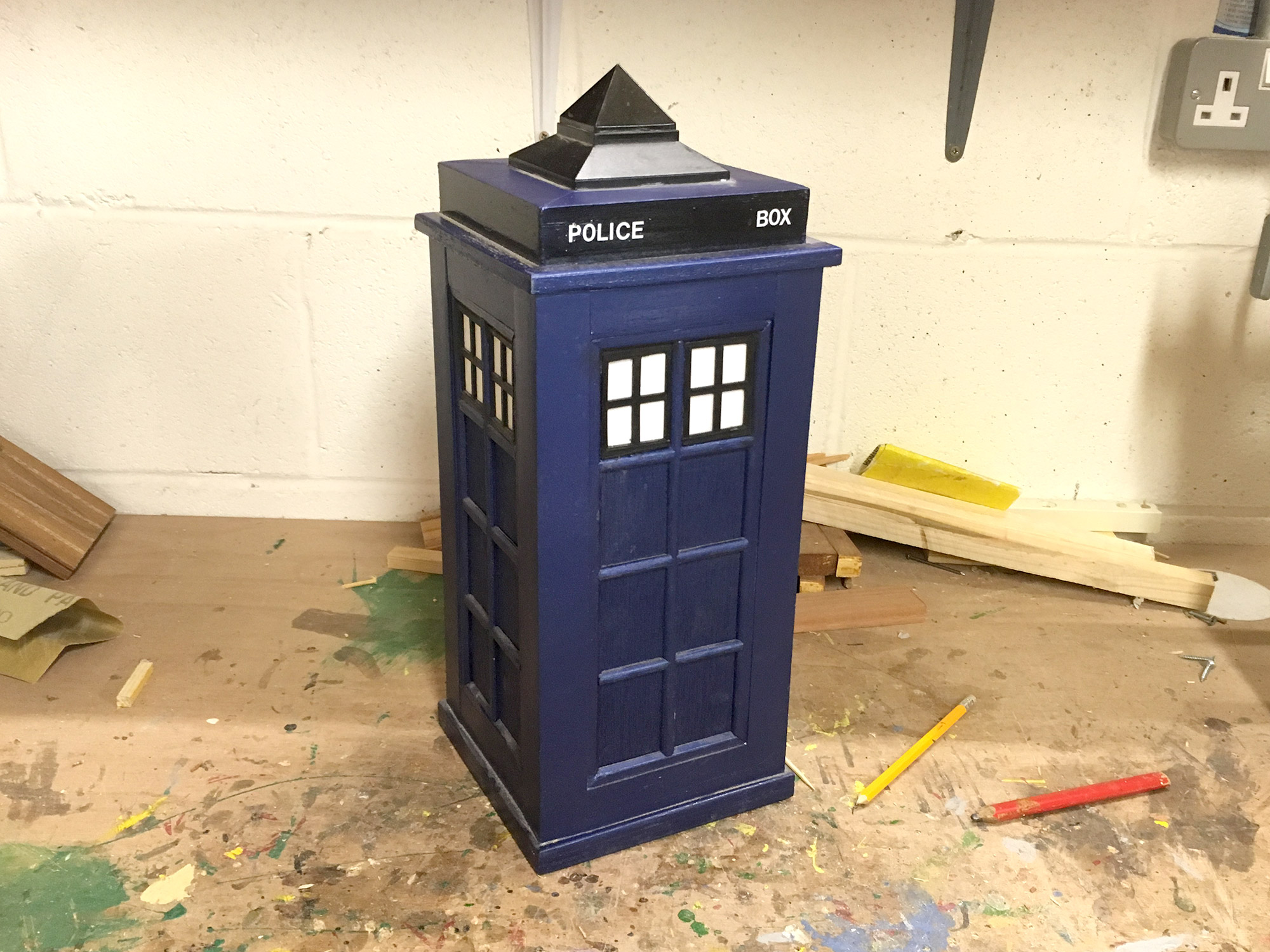 Tardis_Kirkintilloch_Mens_Shed